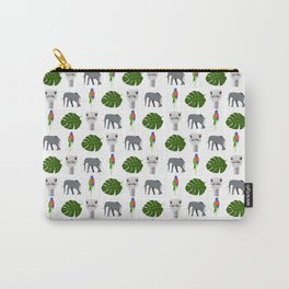 Jungle pattern Carry-All Pouch