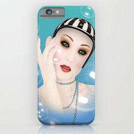 bubble face  iPhone Case