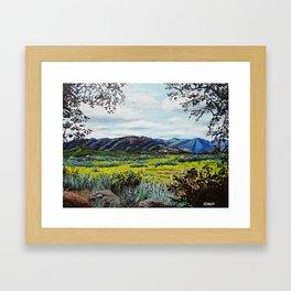 Morena, CA Framed Art Print