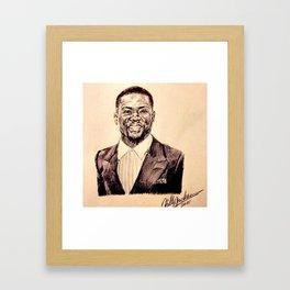 KEVIN HART PORTRAIT Framed Art Print