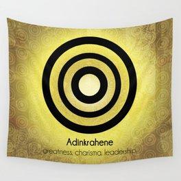 Adinkrahene - Adinkra Art Poster Wall Tapestry