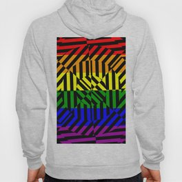 Best Abstract Art (Rainbow Colors) Hoody