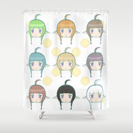 Daughter to Dragons Shower Curtain