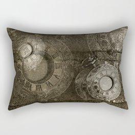 Too Much Time Rectangular Pillow