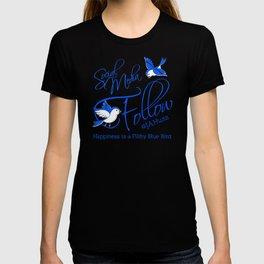 FILTHY BLUE BIRDS T-shirt
