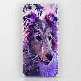 Shetland Sheepdog Puppy iPhone Skin