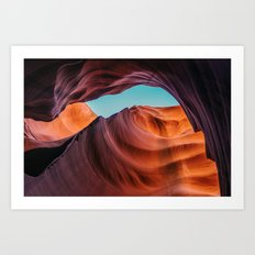 Antelope Canyon - Page, Arizona, USA Art Print