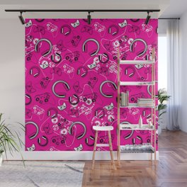 Gamers-Pink Wall Mural