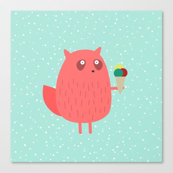 Ice cream dreams #1 Canvas Print