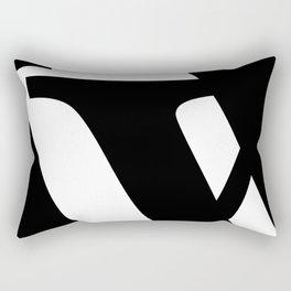 Hidden Letters. Baskerville Y Rectangular Pillow