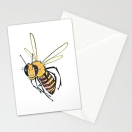 Happy Bee 2 Stationery Cards