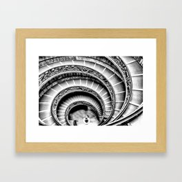 Rome [Perspective Angle N°1] Italy Framed Art Print