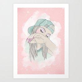Thea Art Print