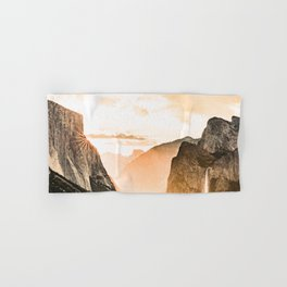 Yosemite Valley Burn - Sunrise Hand & Bath Towel
