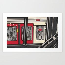 Underground, Windows Art Print