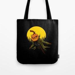 Pumpkin scarecrow Tote Bag