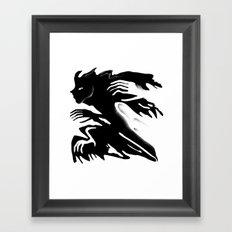 Demon 9 Framed Art Print