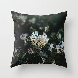 flower photography by Annie Spratt Throw Pillow