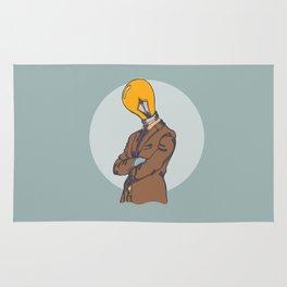 Light Bulb Head Rug