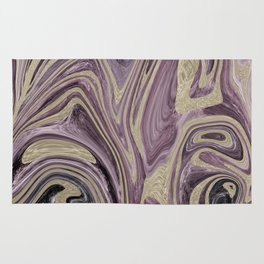 Fluid Kiss #1 #abstract #decor #art #society6 Rug