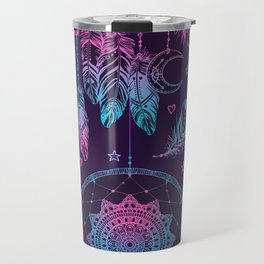Ultra Violet Dreams, Dream Catcher Enchantment Travel Mug