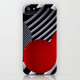 shining geometry iPhone Case