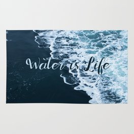 Water is Life Rug