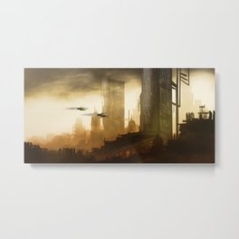 Sightseeing - Chris Little Metal Print