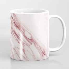 Deep rose pink marble Coffee Mug