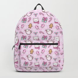 Cute Christmas // Pink Backpack