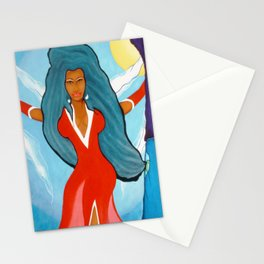 SHE'S A DIVA Stationery Cards