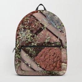 Little Leaves & Red Bricks Backpack