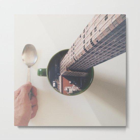 Evening breakfast with Supertramp Metal Print