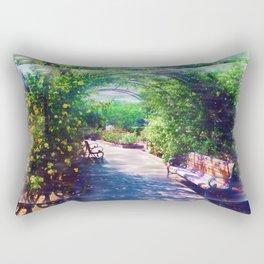 Rosy Bower Rectangular Pillow