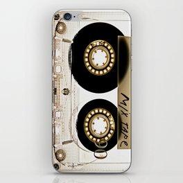 Retro classic vintage transparent mix cassette tape iPhone Skin