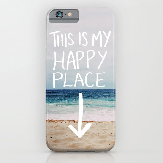 My Happy Place (Beach) iPhone & iPod Case