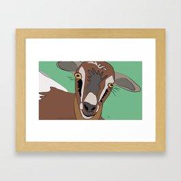 She-Goat / Chilleria Palmera Framed Art Print