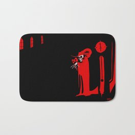 The Masque of the Red Death Bath Mat
