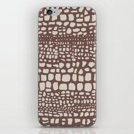 Crocodile iPhone Skin