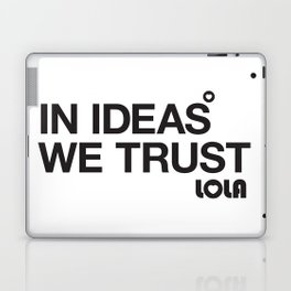 In Ideas We Trust Laptop & iPad Skin