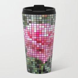 Pink Roses in Anzures 6 Mosaic Travel Mug