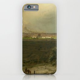 Jerusalem from the Mount of Olives by Frederic Edwin Church iPhone Case