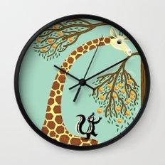 Lending A Neck Wall Clock