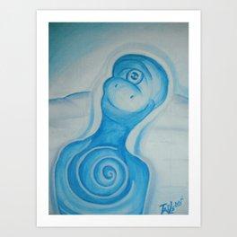 Bobbin in wonderhappy Art Print