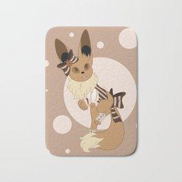 Little Steampunk Fox Bath Mat
