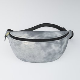 Gloomy sky and clouds Fanny Pack