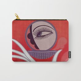 """Art Deco Design """"Compact - Vanities"""" Carry-All Pouch"""