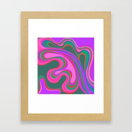 Pattern Play Part 1 Framed Art Print
