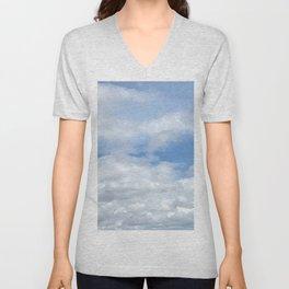 Soft Heavenly Clouds Unisex V-Neck