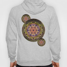 K107 Abstract Medallion Hoody